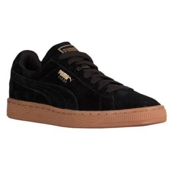 buy online 2396c 6a2e6 NEW PUMA Suede Classic Gold Collection Shoe
